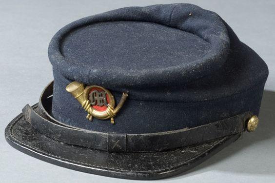 Rare Civil War Marine Corps Kepi, - Cowan's Auctions