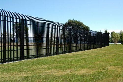 10 Foot Pre Fabricated Security Fence Security Fence Home Safety Diy Home Security