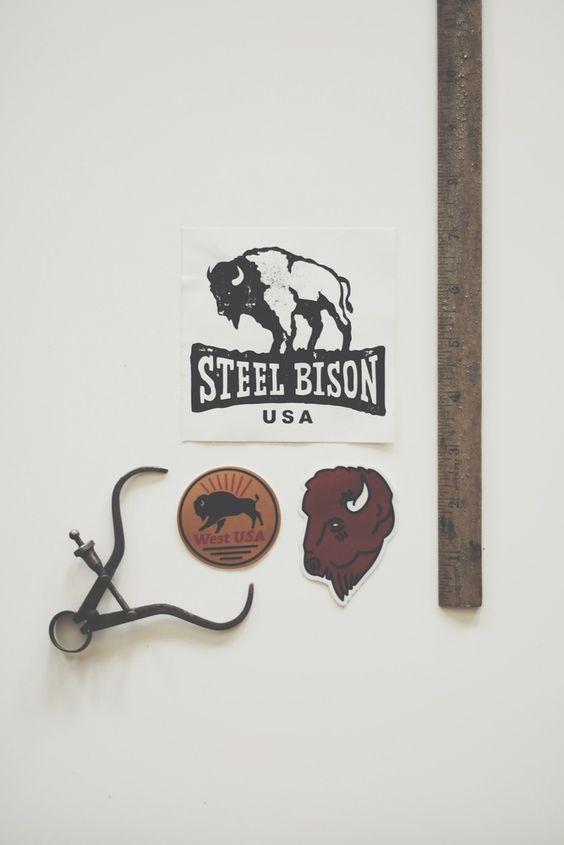 Image of Steel Bison Sticker pack NO. 1