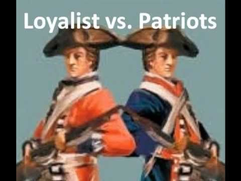 American Revolution Loyalist-Patriot Perspectives - Part 2