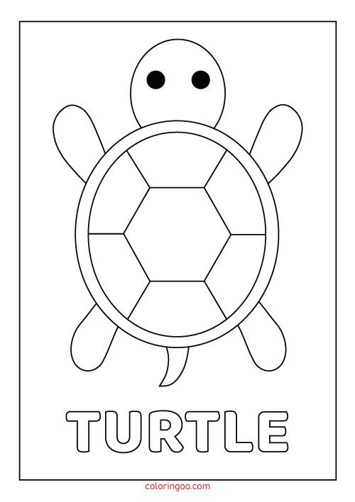 Turtle Printable Coloring Pages For Kids Turtle Coloring Pages Kids Printable Coloring Pages Coloring Pages For Kids