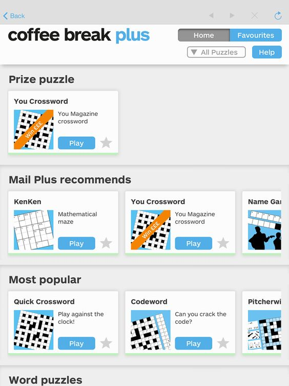 Mymail Mailplus Word Puzzles Words App