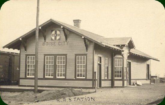 Boise City, Oklahoma depot