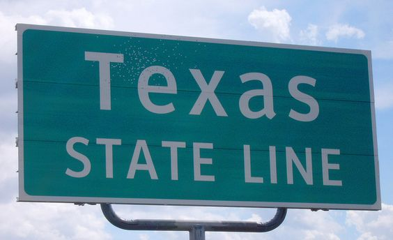 """New post is up on my blog!!""""Come back to Texas"""" http://wp.me/p3I71M-1u  Photo cred: Texas State Line Sign (Cochran County, Texas) by courthouselover, via Flickr"""