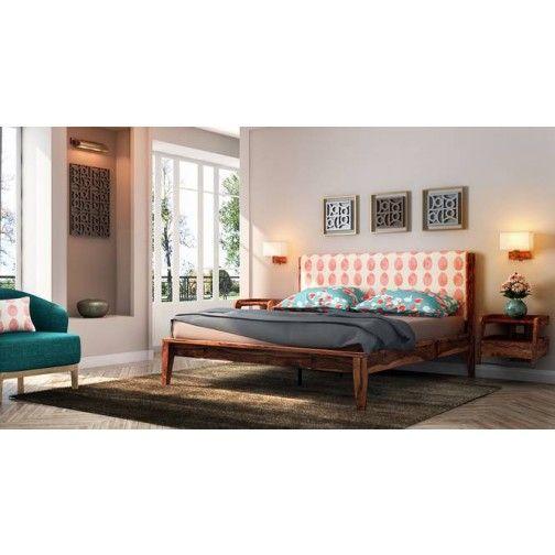 Gorevizon Flynn Kb Engineered Wood King Bed With Storage Wooden King Size Bed King Size Bed Designs King Upholstered Bed