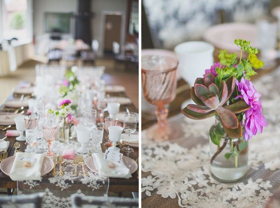 Vintage wedding details at Sugar Beach Events wedding venue provided by Opihi Love and Set