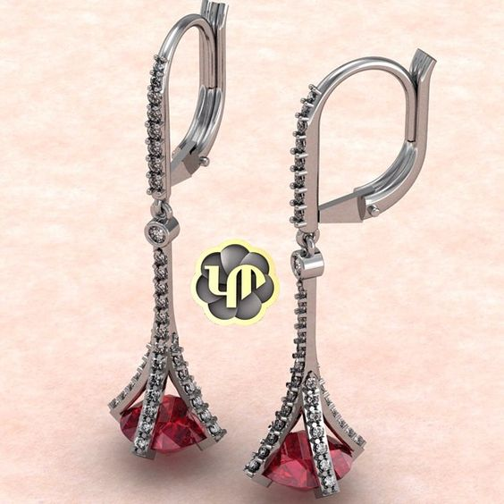 #nofilter #earrings #diamonds #ruby #gold #whitegold #perfection #round #brilliance #luxury #love #fancy
