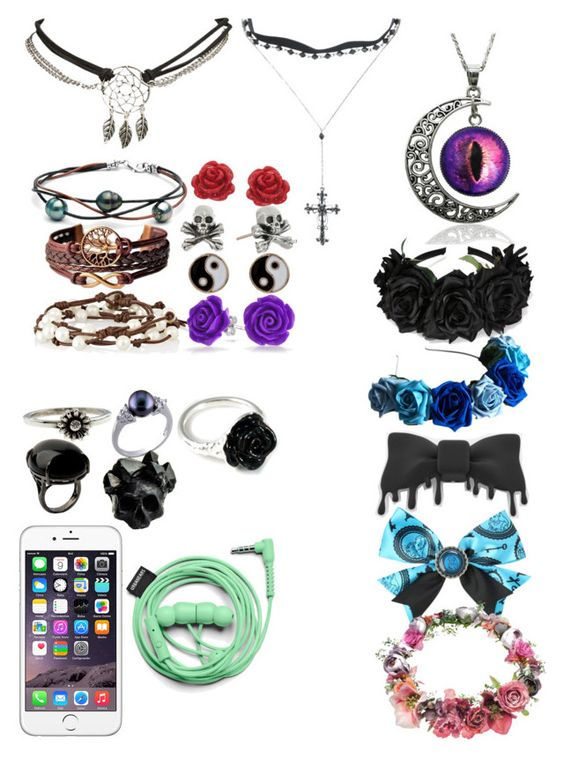 """my kind of jewelry"" by perrylib on Polyvore featuring Wet Seal, Chan Luu, Eternally Haute, King Baby Studio, Accessorize, Bling Jewelry, Metal Couture, Sharra Pagano, Macabre Gadgets and LeiVanKash"
