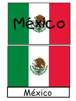all mexican flags