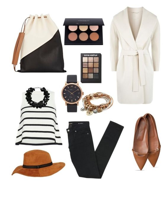 """""""Untitled #344"""" by sanela-o ❤ liked on Polyvore featuring Marni, Yves Saint Laurent, MaxMara, Cardigan, Marc Jacobs, Lizzy James, Sonia Kashuk and First People First"""