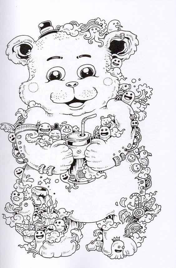 Teddy Bears Doodles And Bears On Pinterest