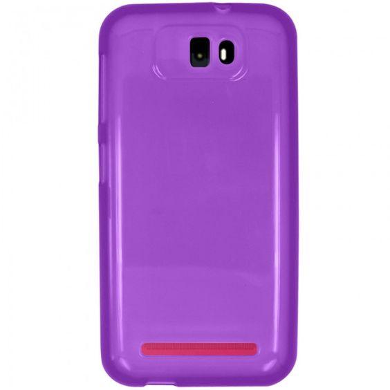 Zizo Slim-Fit TPU Case for BLU Studio 5.5 - Purple