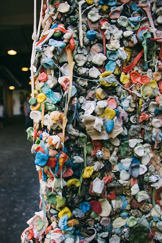 Pike Place Market Gum Wall in Seattle