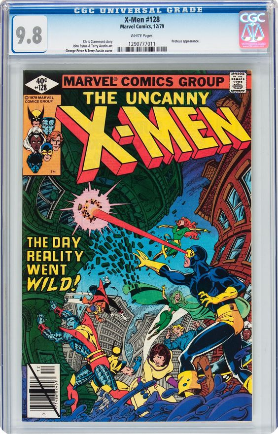 X-Men #128 (Marvel, 1979) CGC NM/MT 9.8 White pages.... Bronze Age | Lot #14638 | Heritage Auctions