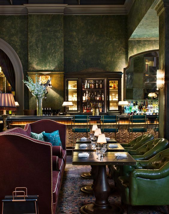 Meet The Best Interior Designers In The Uk Part Iii Luxury Bar Design Luxury Bar Bar Interior Design
