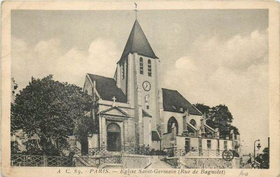 #photo #histoire Eglise Saint-Germain de Charonne #Paris20 #PEAV @Menilmuche @LesPipDeRib