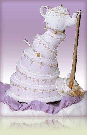 #Belle's #Cake? Marie's Gourmet Bakery, speacializing in Wedding Cakes (Las Vegas).