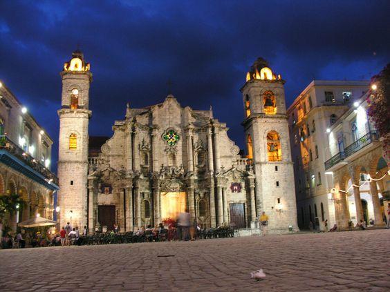 Catedral de La Havana. Cuba