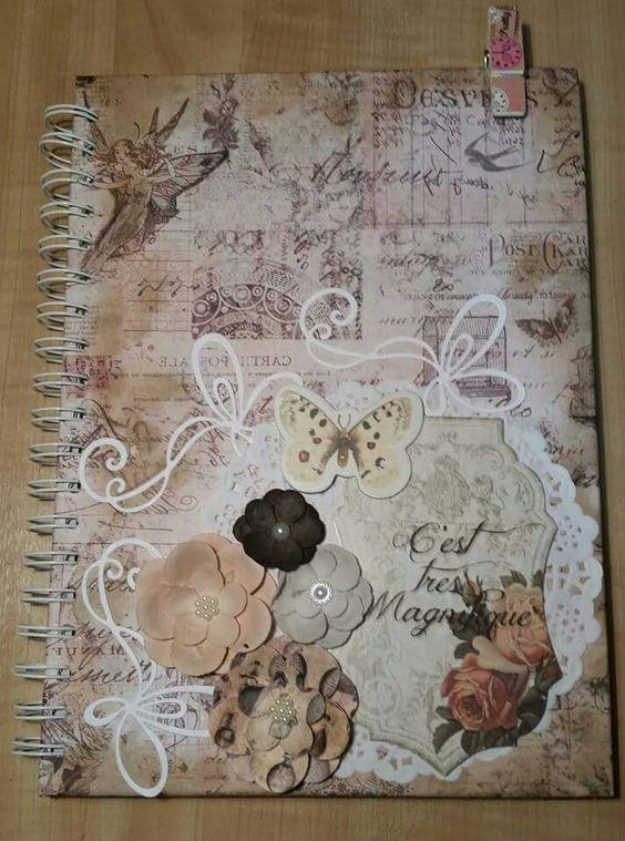 Caderno scrap
