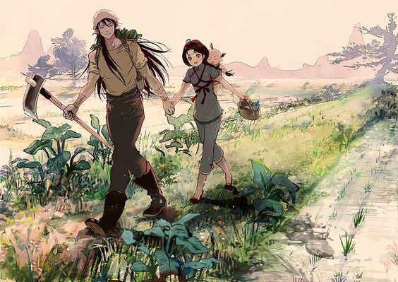 shiryu, shunrei e seu filho