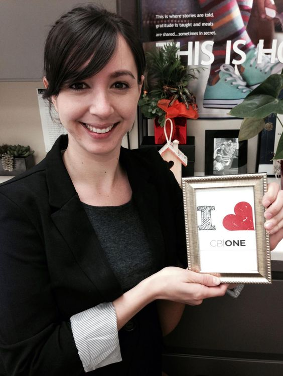 It's official - Oakland loves CB ONE! Love the support and enthusiasm, Katelynn Johnson-Medeiros!
