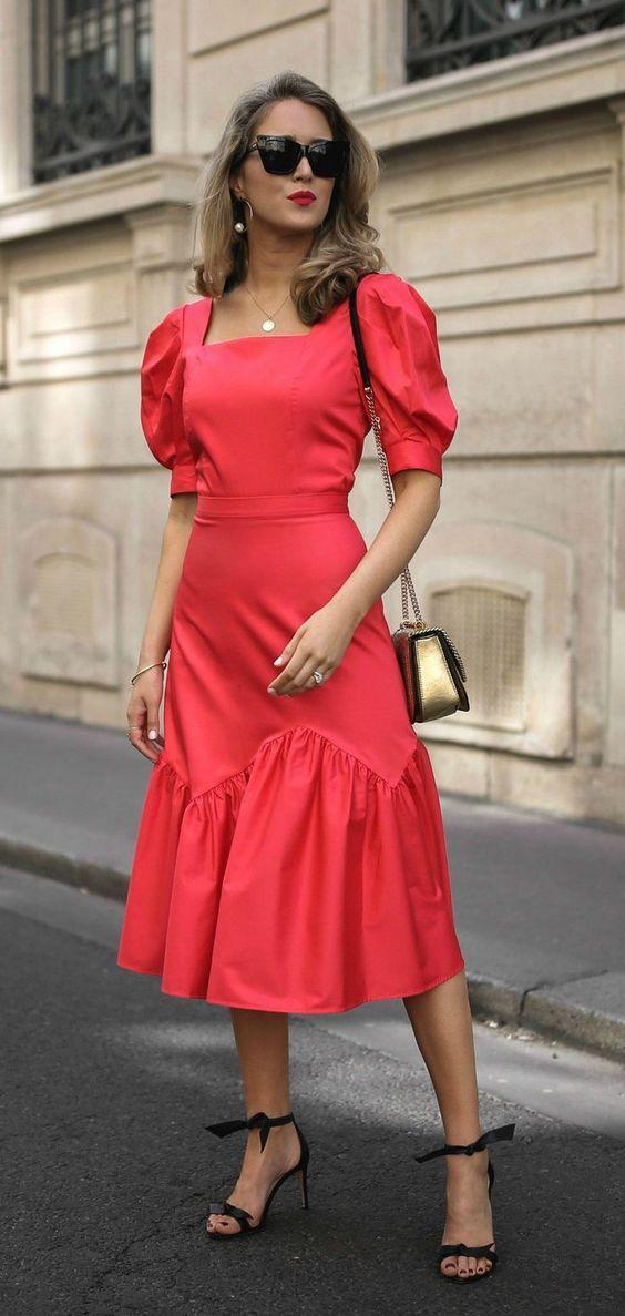 Vestidos Bufante rosa