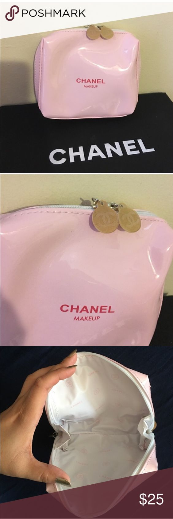 Chanel small pink makeup bag Brand new never used, authentic vip gift CHANEL Accessories