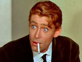 Peter O'Toole's incredible eyes