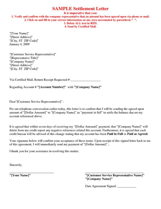 academicstritonedu faculty fheitzman ID100pdf Letter of - settlement agreement