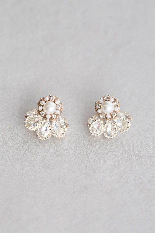 Pin auf Ohrringe Hochzeit