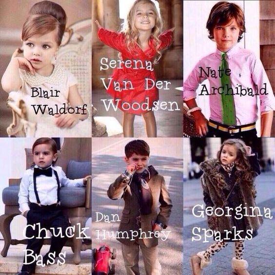 gossip girl babies my children will be like
