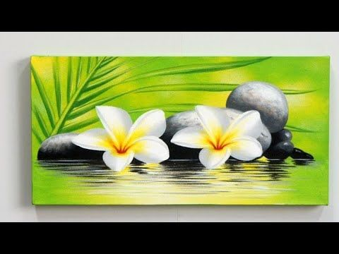 Step By Step Acrylic Painting On Canvas For Beginners Nature Scenery Painting Easy Pantin Simple Acrylic Paintings Scenery Paintings Easy Canvas Painting