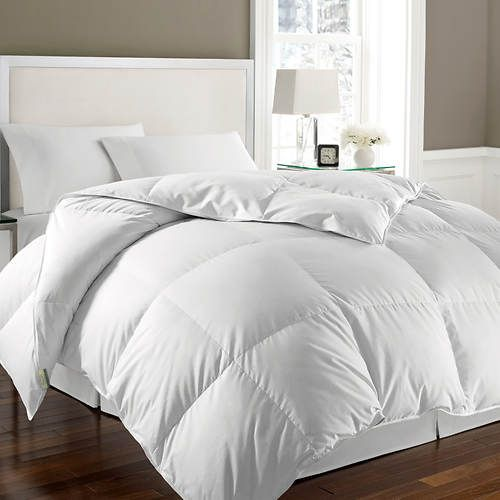 Goose Feather Down Comforter In 2020 Down Comforter Comforters Mattress Furniture