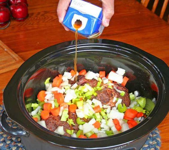 Add Beef Broth