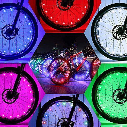 Daway Led Bike Wheel Lights A01 Waterproof Bright Bicycle Light