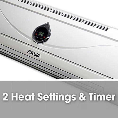 Futura 2kw 2000w Deluxe Over Door Heater Fan Air Curtain Week