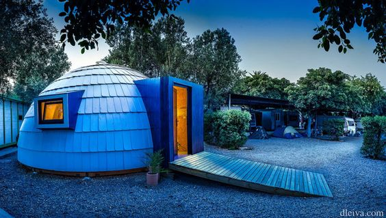 Xiglu, vivienda modular con 32 metros cuadrados by Xilacurve #architecture