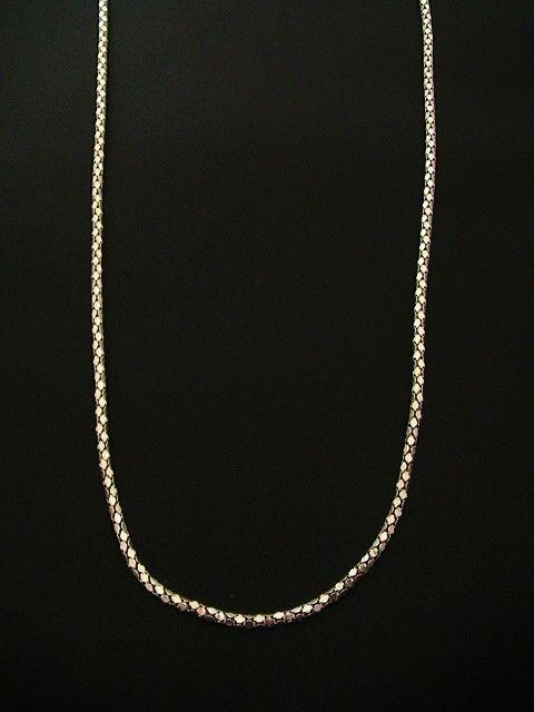 "Giani Bernini Sterling Silver Necklace, 24"""" Popcorn Link Chain #Chain"