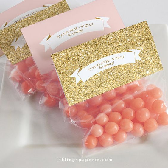 Bridal Shower Decorations // Printable // Pink by InklingsPaperie