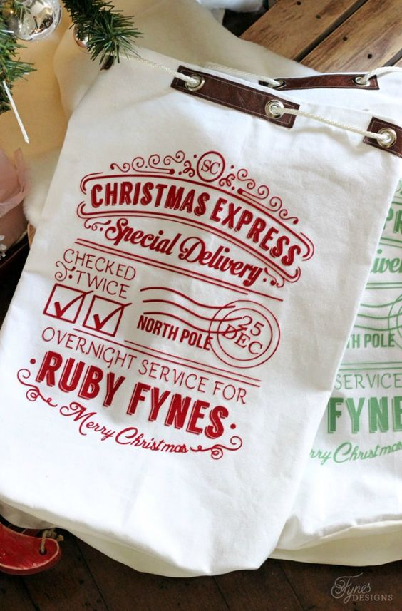 Personalized Santa Sack                                                       …