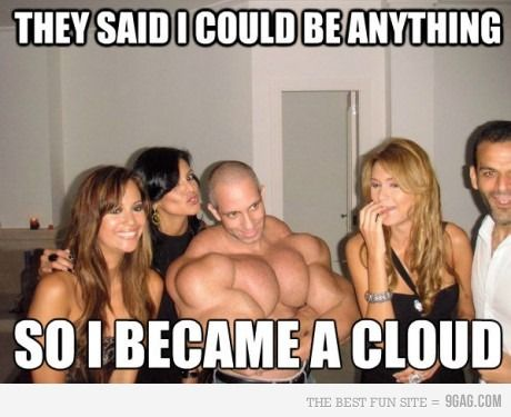 Lay off the Synthol dude.