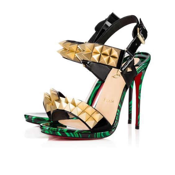 cl shoes - replica - CHRISTIAN LOUBOUTIN Miziggoo 120 Version Multi Patent Leather ...