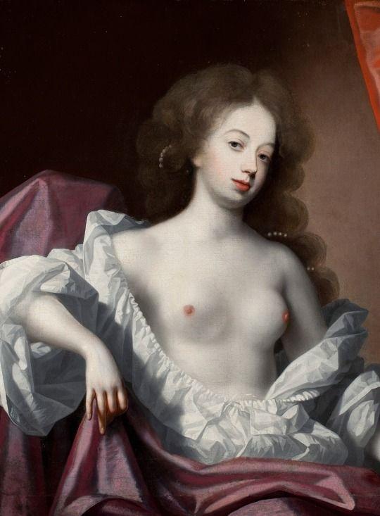 Nell Gwyn (v 1680) by Simon Verelst (1644-1721)