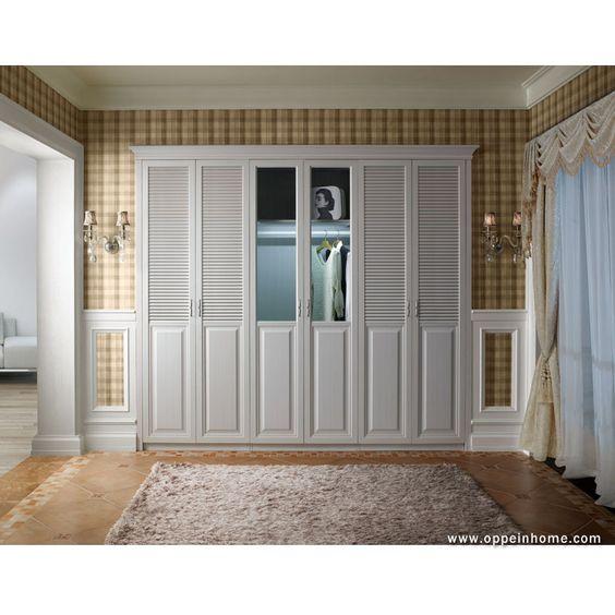 Bedroom Furniture Item Name: Modern Built-in White