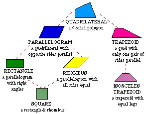 Quadrilateral Definitions For Kids Quadrilateral Fa...