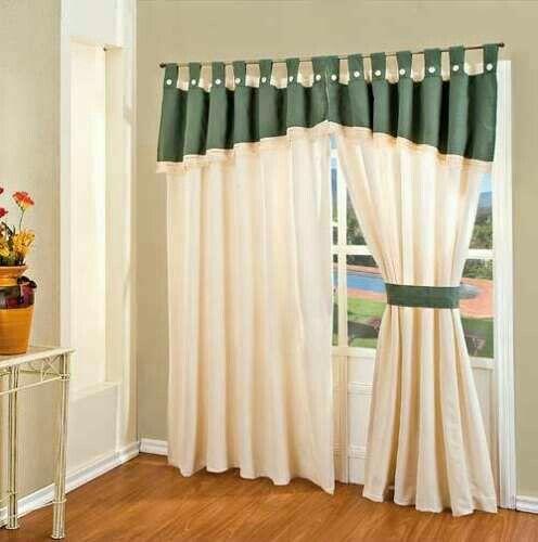 Cortina De Pasadores Home Curtains Curtains Curtain Decor