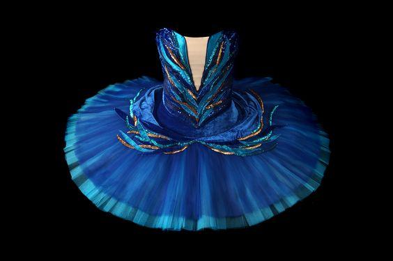 Tutu · Pájaro Azul ·Ballet · La Bella Durmiente · Sleeping Beauty · Costume Designer · Diseño de Vestuario: Ana Carolina Figueroa