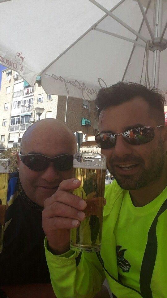 Bici y luego cerveza