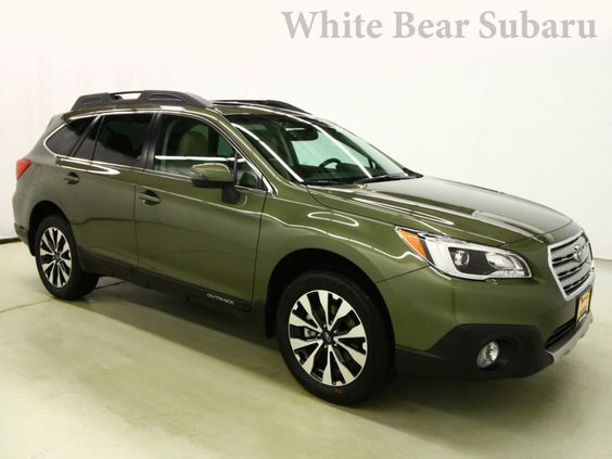 New 2016 Subaru Outback for sale in White Bear Lake MN at White Bear Subaru dealership near St. Paul, Minnesota. 2016 Outback for sale St. Paul. Outback in Wilderness Green. Key: Leather Seats, AWD, Heated Driver Seat, Premium Sound System, MP3 Player. >> Learn more and schedule a test drive.