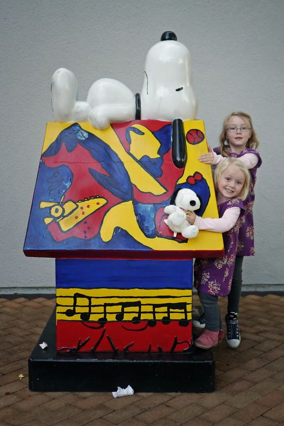 Little Hiccups: Charles M. Schulz Museum in SF